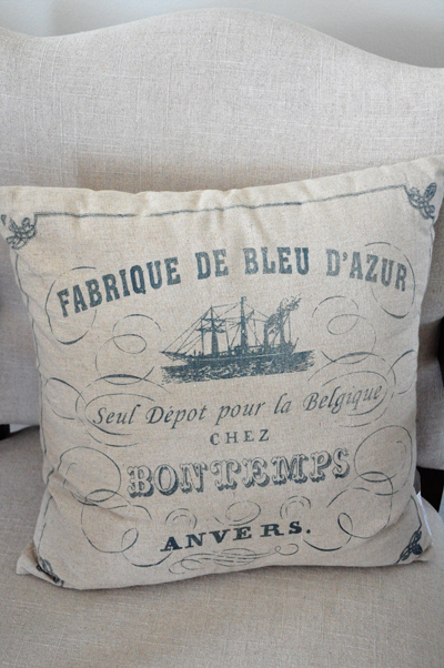 FrenchGraphicPillow