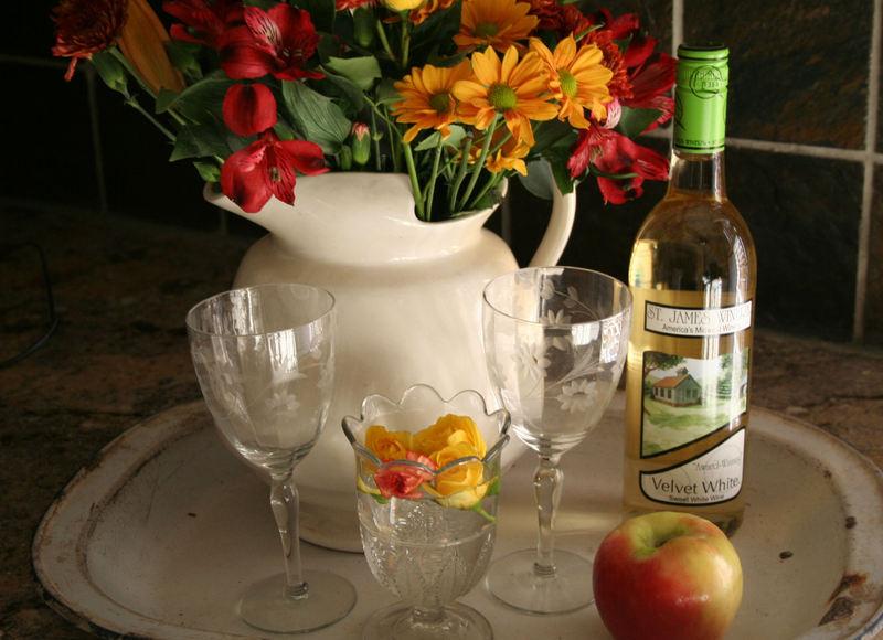 Wineandflowers