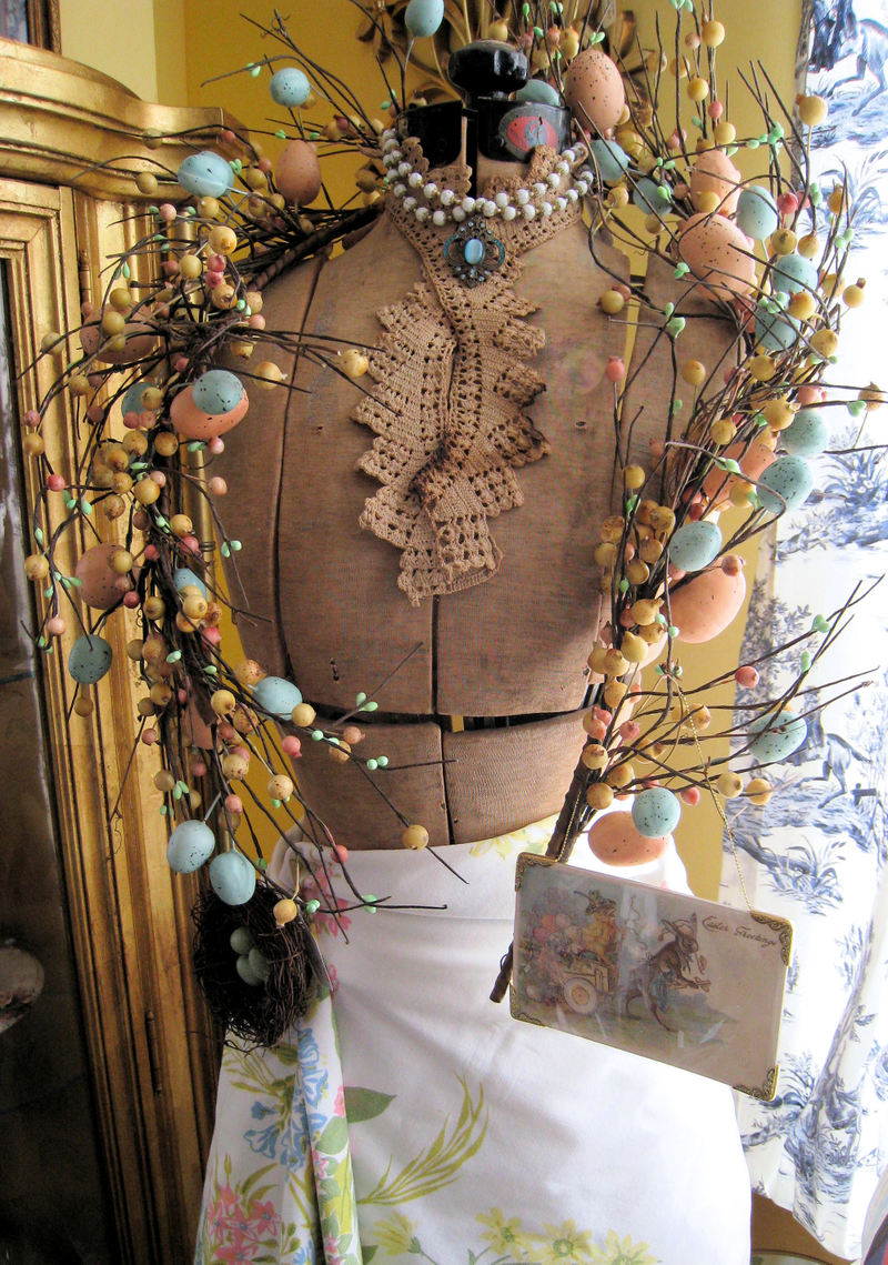 Eastereggdressform